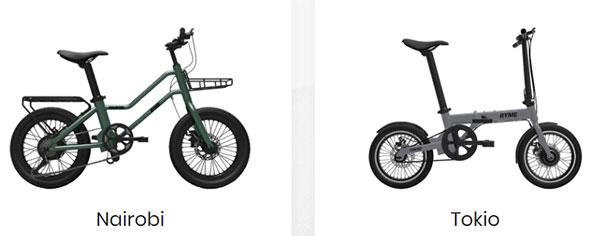 RymeBikes presenta su gama de bicicletas eléctricas urbanas
