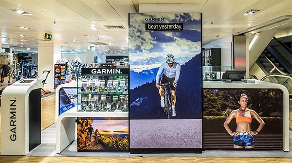 Garmin abre su primera tienda física en España y negocia nuevos corners con El Corte Inglés