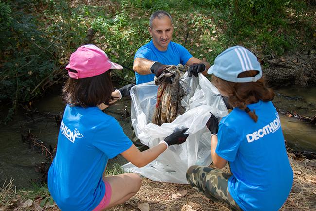 Decathlon celebra una nueva Jornada de Voluntariado Ambiental