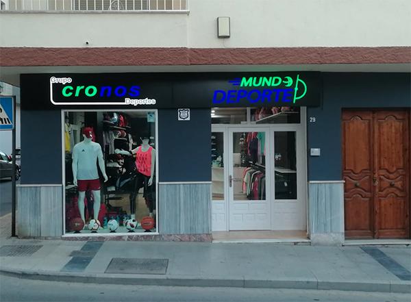Deportes Cronos culminará esta semana con 226 tiendas