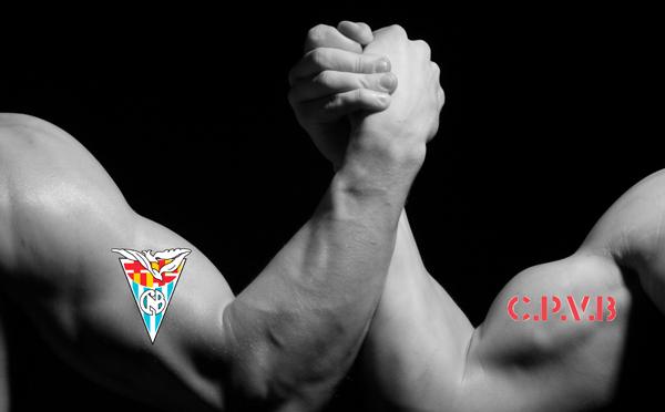 Desafío entre el Club Natación Barcelona y el Club Patí Vela Barcelona