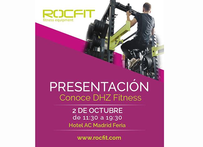 Rocfit organiza una presentación de las máquinas DHZ Fitness en Madrid