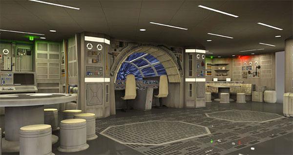 Disney incluirá un gimnasio futurista en el Hotel Star Wars