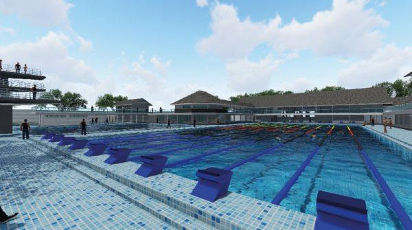 Fluidra ultima las instalaciones acuáticas de los XIII Juegos PORA