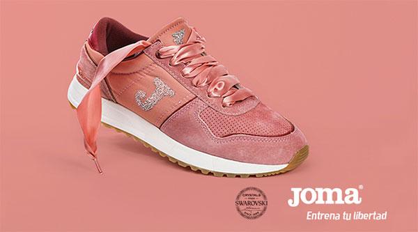 Joma añade Swarovsky a sus sneakers