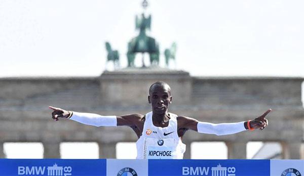 Un minuto y 18 segundos que han hecho historia en el maratón