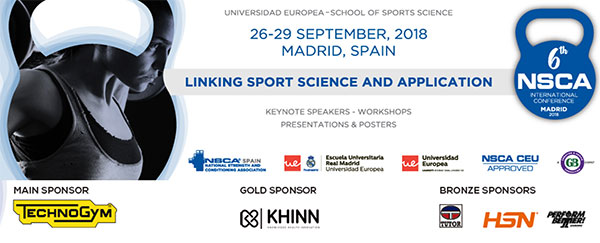 Arranca en Madrid la 6ª NSCA International Conference - CMD