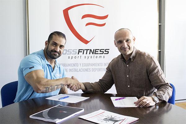 Oss Fitness ficha al fisioculturista Raúl Carrasco