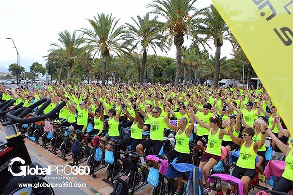 El evento solidario de ciclismo indoor Pedals Non Stop recauda 3.200 euros