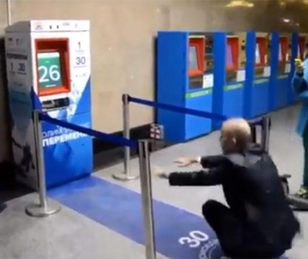 Sentadillas por billetes de metro gratis