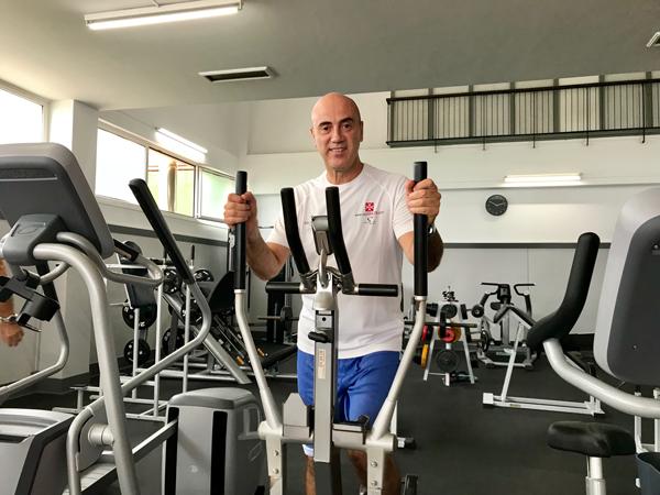 """Tomás Molina: """"el deporte nutre y forma, tengas la edad que tengas"""""""