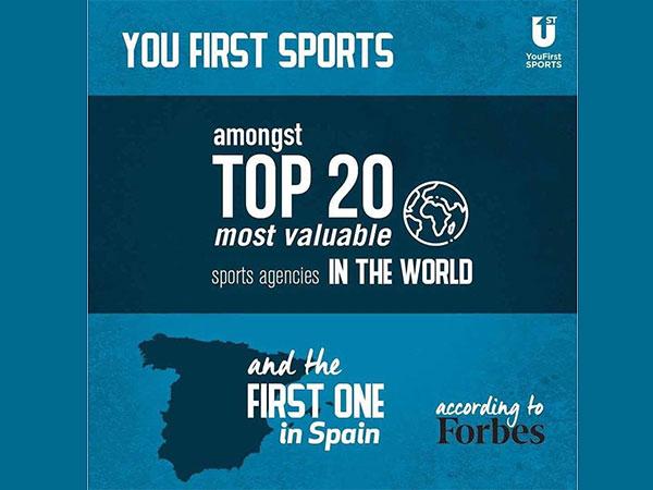 You First Sports entra en el TOP20 de la lista Forbes