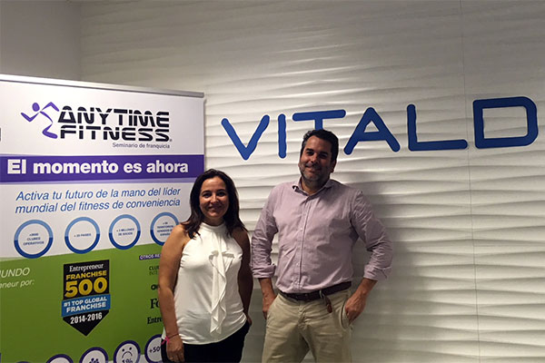 Del gimnasio al dentista: Alianza entre Anytime Fitness y Vitaldent