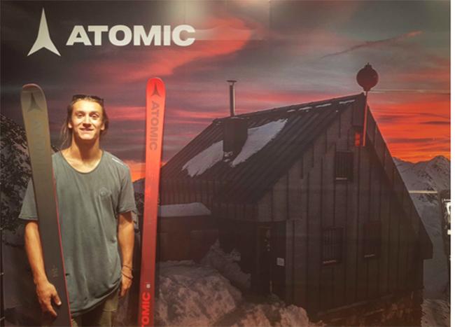 Atomic ficha al esquiador Javi Lliso