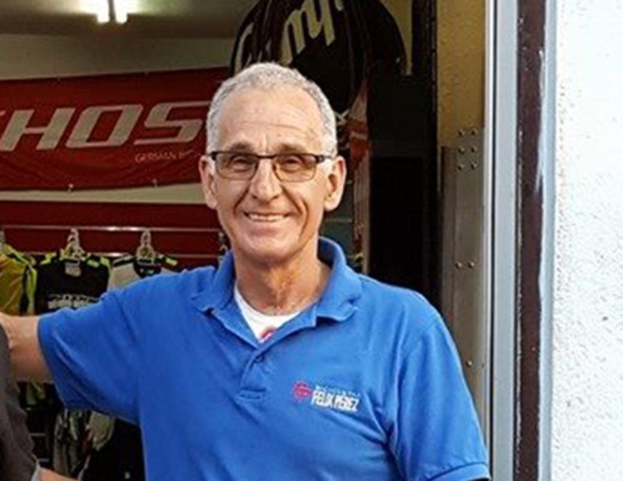 """Félix Pérez: """"Las tiendas de ciclismo viviremos del taller, no de la venta de bicis"""""""