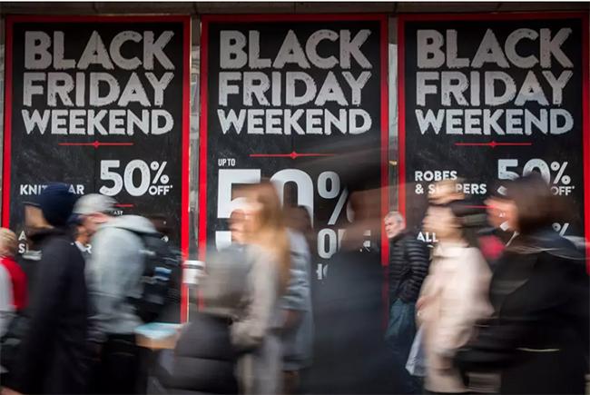 Las ventas online del Black Friday alcanzarán los 1.300 millones de euros