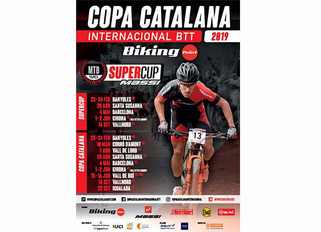 La Copa Catalana Internacional Biking Point desvela su calendario 2019