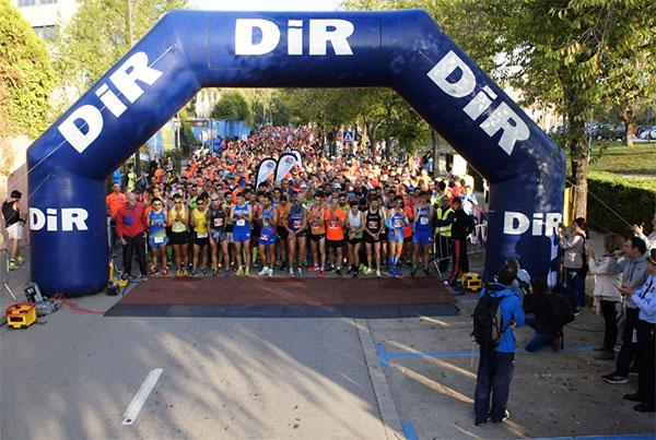 La Cursa DiR Mossos d'Esquadra celebra su décima edición con récord de participación
