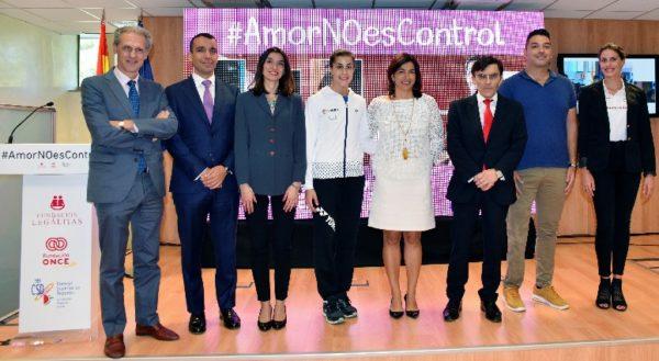 El Deporte español lanza la campaña #AmorNoEsControl