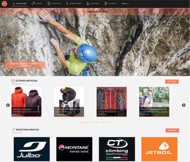 Esportiva Aksa estrena página web