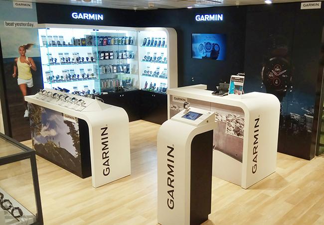 Garmin abre una nueva shop in shop en El Corte Inglés de Pozuelo
