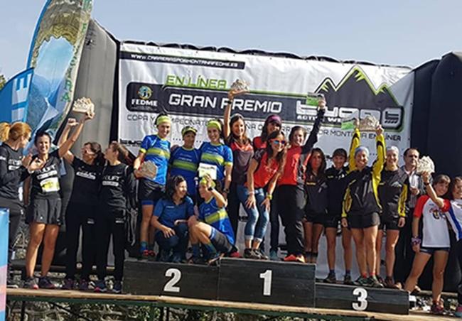 Las chicas del Lurbel Team People Sapiens, subcampeonas de España de Clubs Fedme