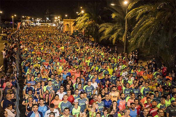 La 15K Nocturna Valencia abre inscripciones con 2.000 dorsales a precio promocional