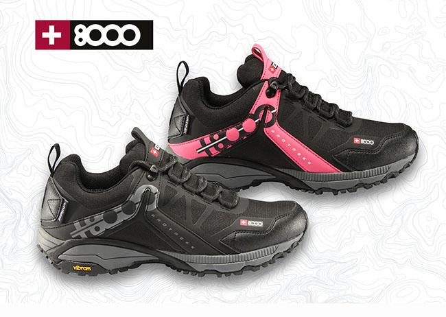 +8000 apela al confort con su nueva zapatilla Talca