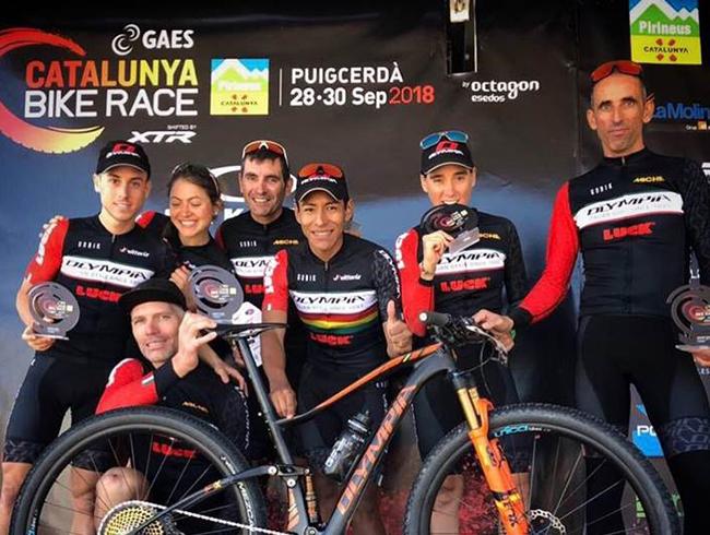 El equipo Olympia brilla en la GAES Catalunya Bike Race shifted by XTR