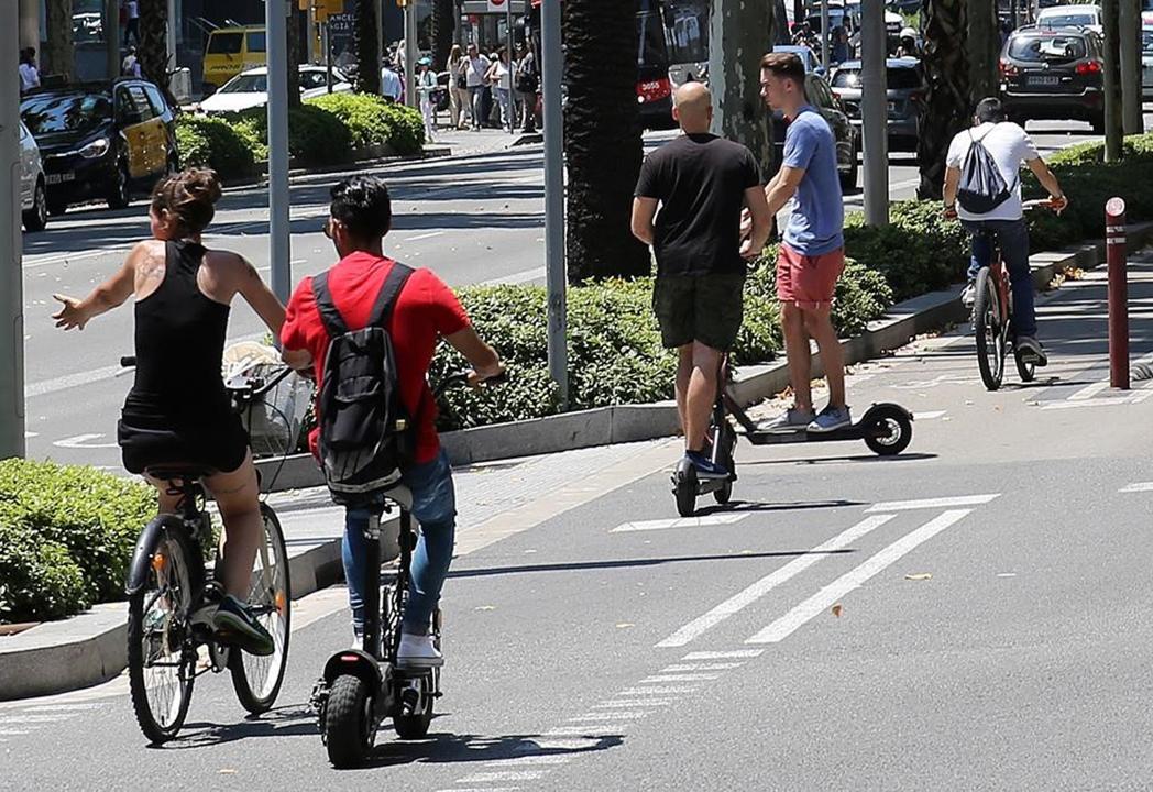 El patinete eléctrico, ¿una amenaza para la bicicleta?
