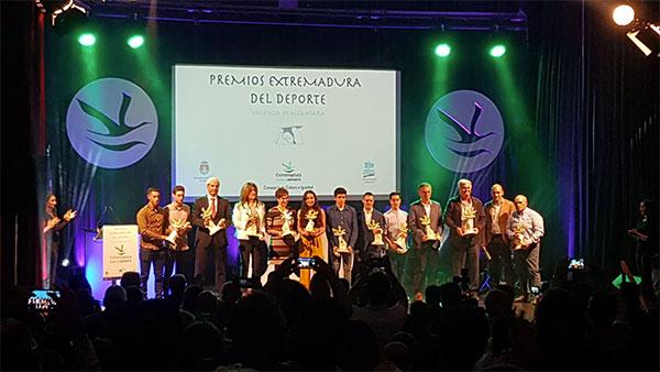 El Perú Cáceres Wellness, galardonado como la mejor entidad deportiva de Extremadura