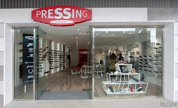 La cadena de sneakers, fitness y running Pressing abrirá su tercera tienda en Valencia