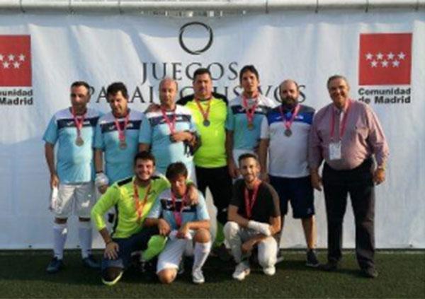 Santagadea Sport, comprometida con el fútbol sala para invidentes