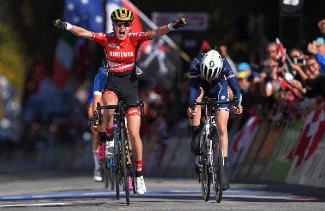 Las ciclistas Scott lideran el Mundial de Ciclismo de Carretera