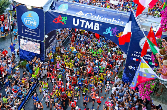 Columbia renueva el patrocinio del Ultra Trail de Mont-Blanc hasta 2021