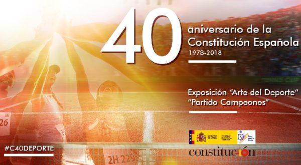 'Arte del Deporte' y 'Campeones': actos por el 40º aniversario de la Constitución