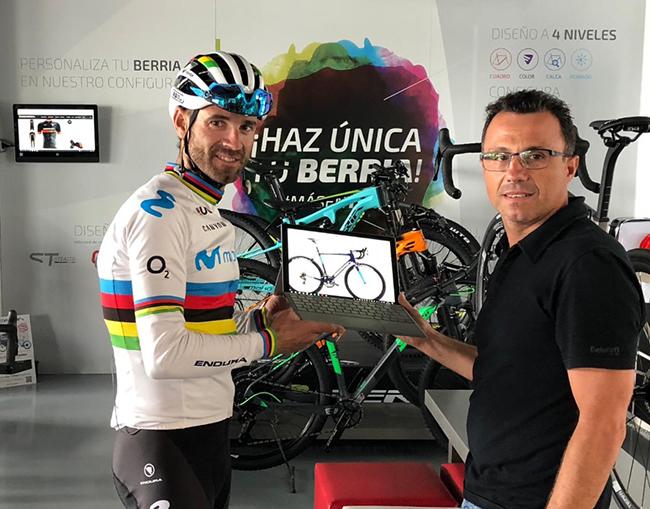 Berria, nuevo patrocinador de la Fundación Valverde Team-Terra Fecundis