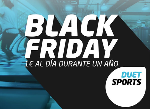 Duet prepara un fin de semana de ofertas por el Black Friday