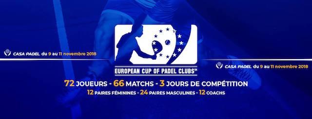 La Euro Padel Cup contará con jugadores de renombre
