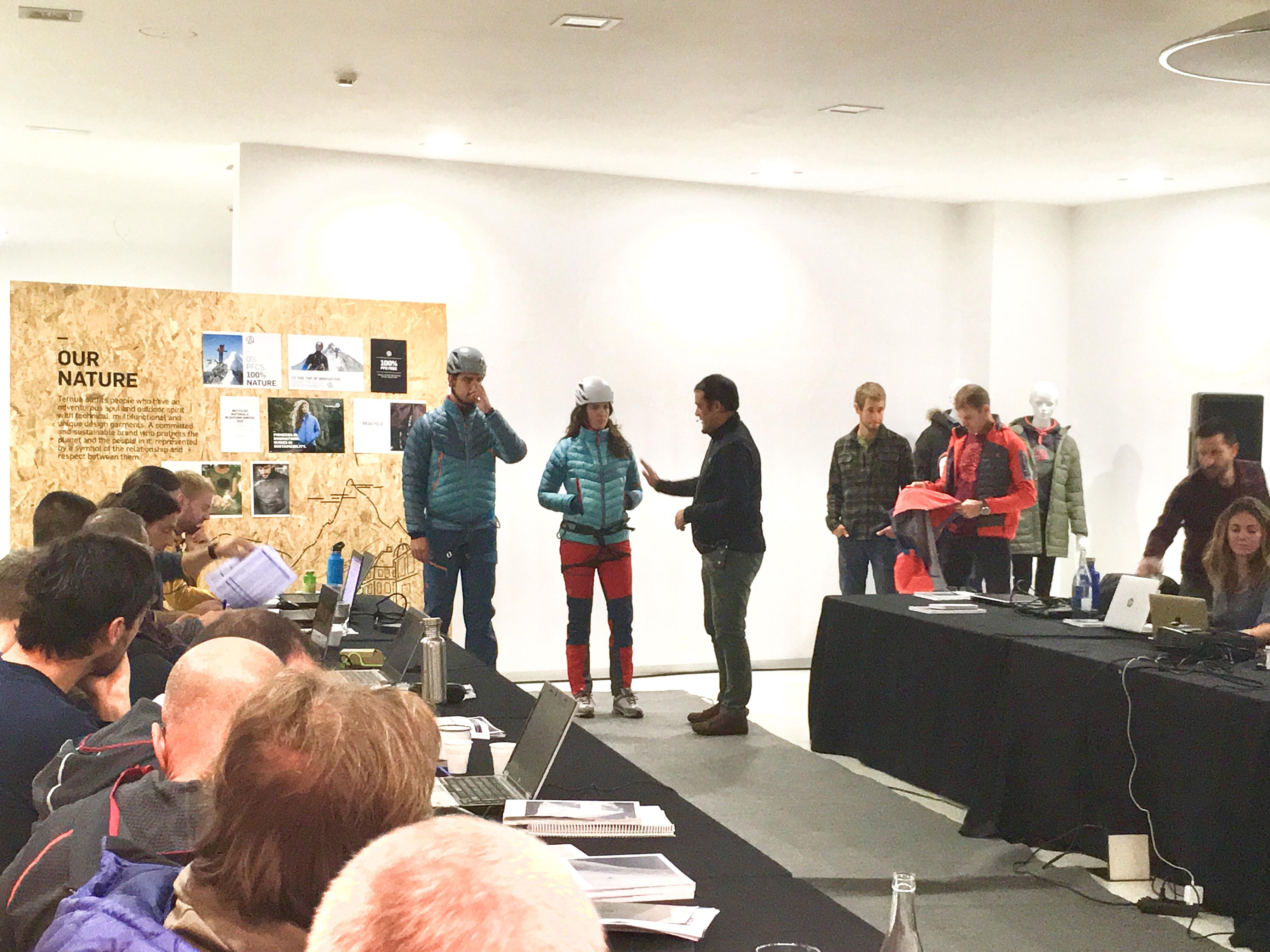 Ternua sigue avanzando en sostenibilidad en su colección de frío 2019-20
