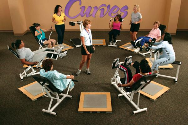 Rotundo liderazgo de Curves entre los gimnasios para mujeres