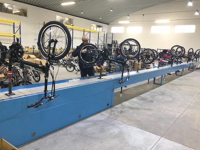 Interbike amplía su línea de producción destinada a las bicicletas eléctricas