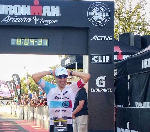 Eneko Llanos se convierte en el español con más victorias en Ironman