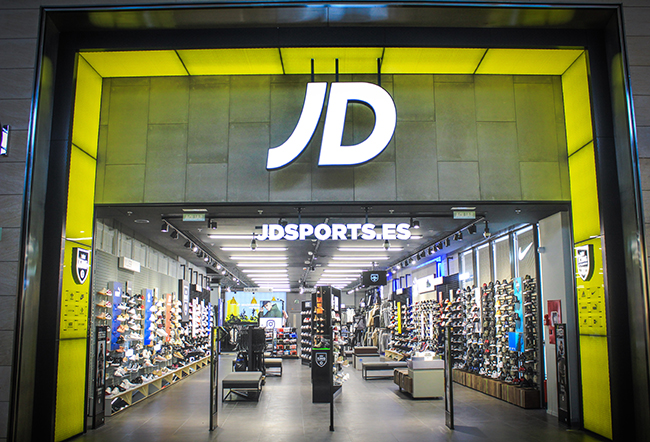 JD Sports ultima su traca expansiva final 2018