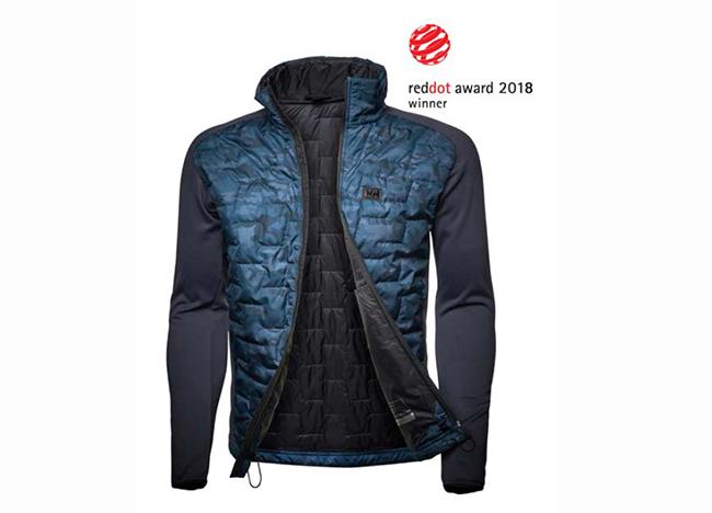 Helly Hansen recibe un Red Dot Award por su Lifaloft Hybrid Insulator Jacket