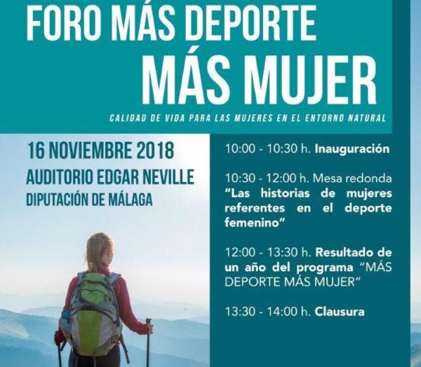 Málaga acoge el foro 'Más deporte, más mujer'