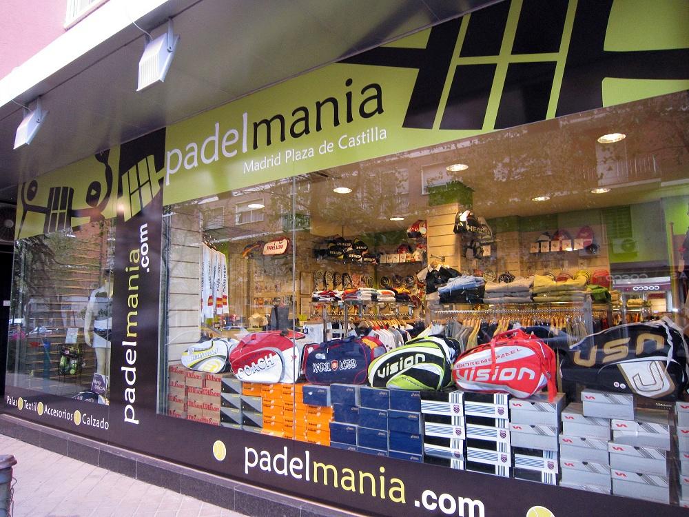 Padelmanía vuelve a Barcelona con una tienda franquiciada