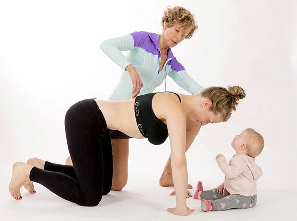 Consejos para mejorar el entrenamiento postparto