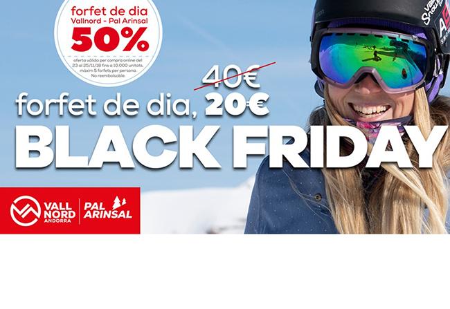 Vallnord se une al Black Friday con la venta de 10.000 forfaits a mitad de precio