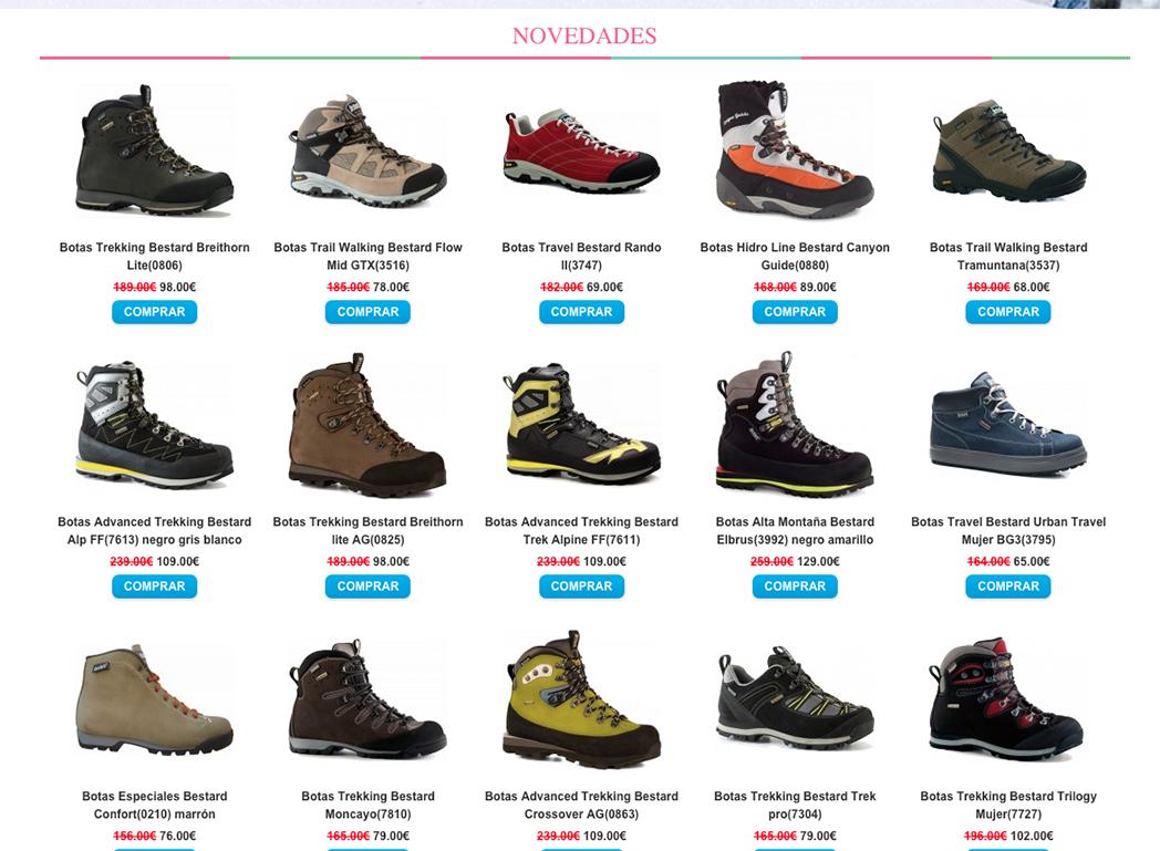Bestard alerta de la venta fraudulenta de botas a través de falsas tiendas online